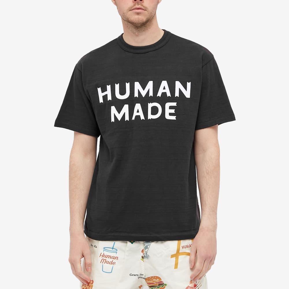 Human Made Logo Tee - Black