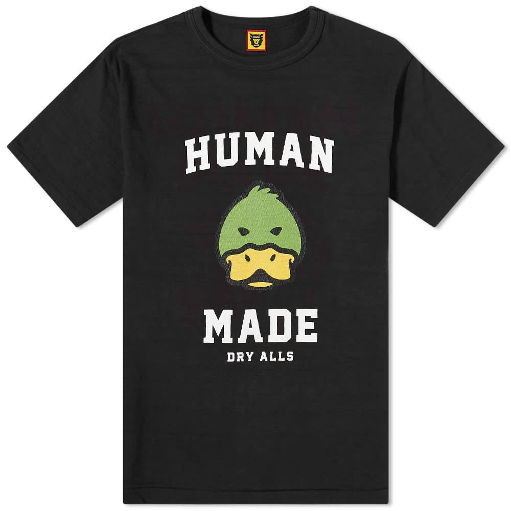Human Made Duck Head Tee - Black