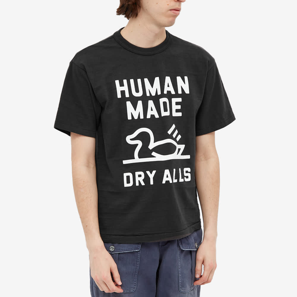 Human Made Duck Outline Tee - Black