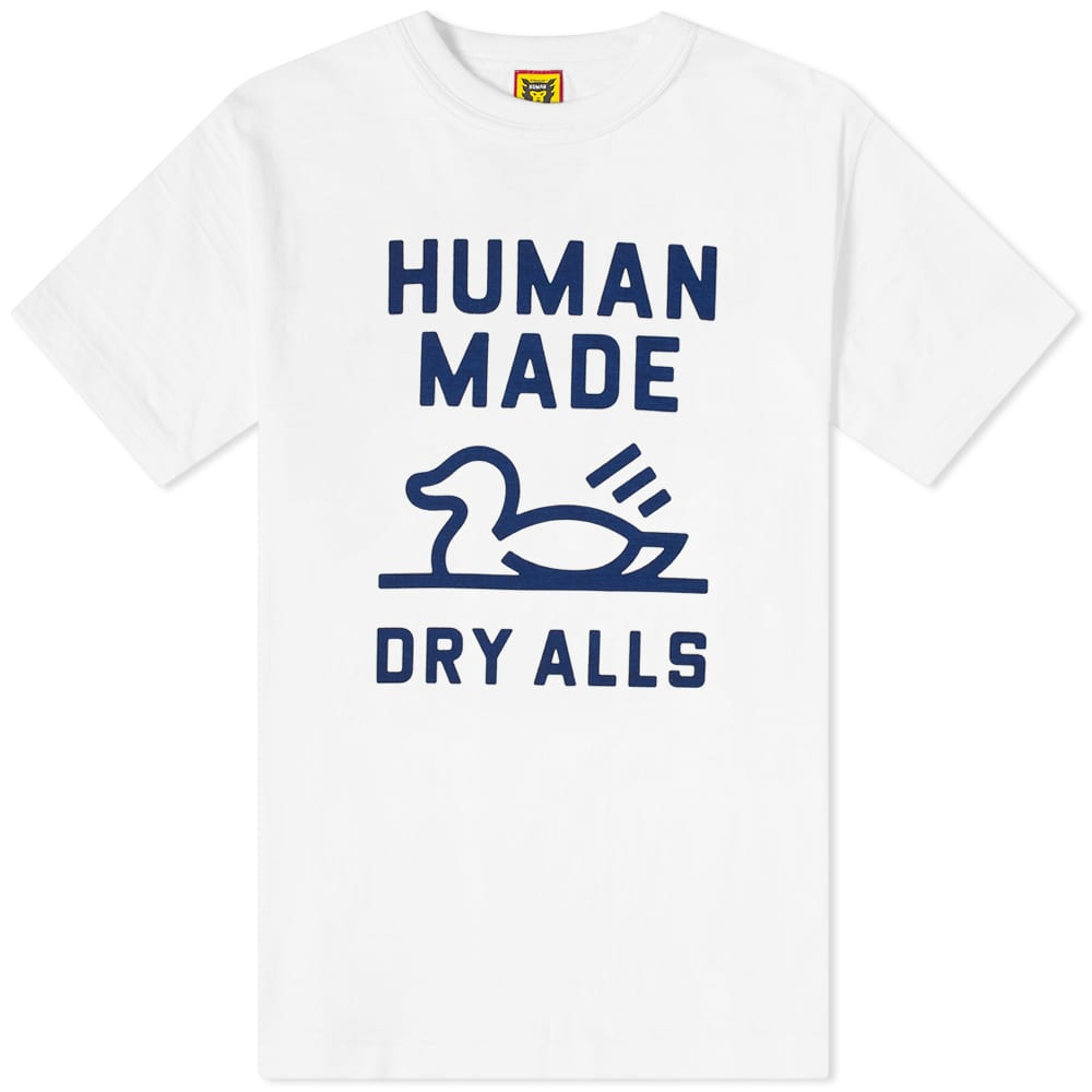 Human Made Duck Outline Tee - White