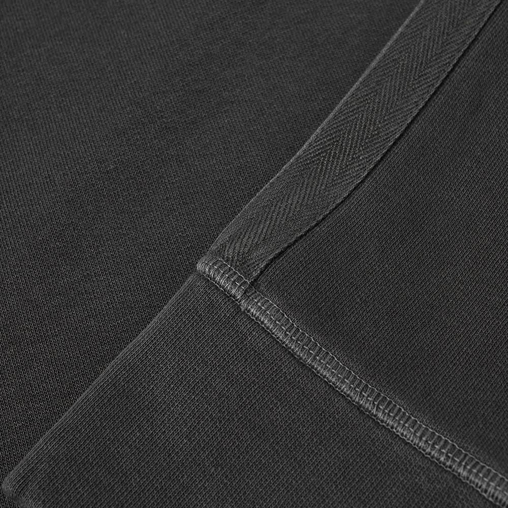 Officine Générale Baptiste Pigment Dyed Crew Sweat - Faded Black