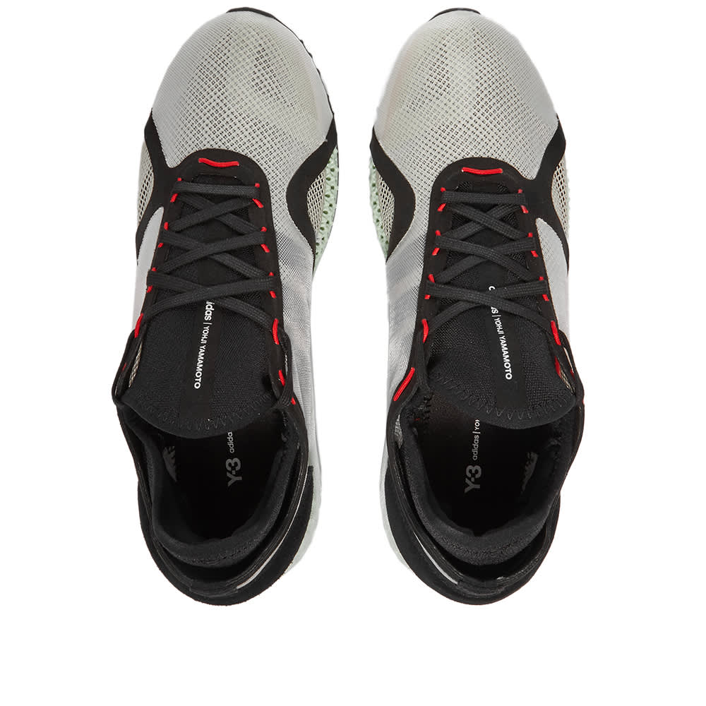 Y-3 Runner 4D IOW - Clear Brown, Black & Red