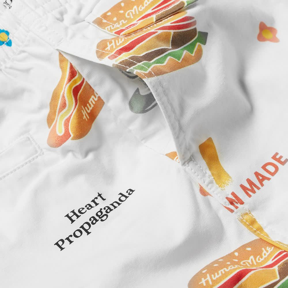 Human Made Junk Food Aloha Shorts - White