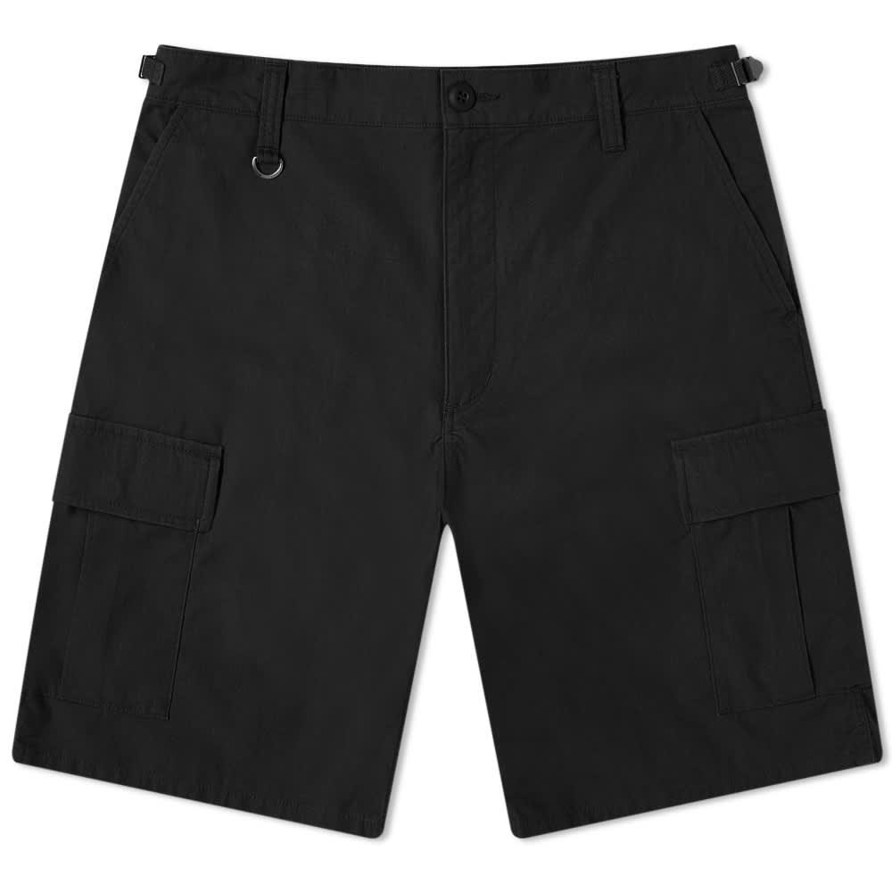 SOPHNET. Ripstop Cargo Short - Black