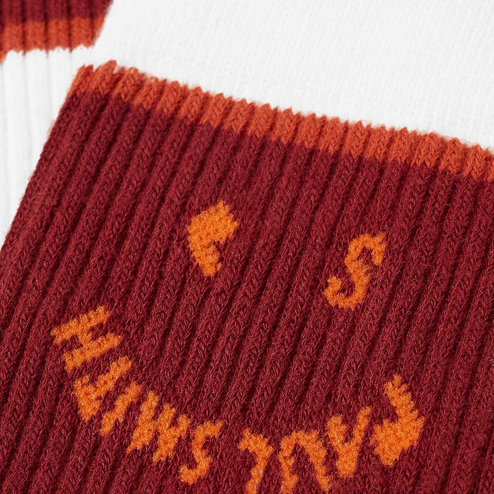 Paul Smith Smiley Face Sports Socks - White