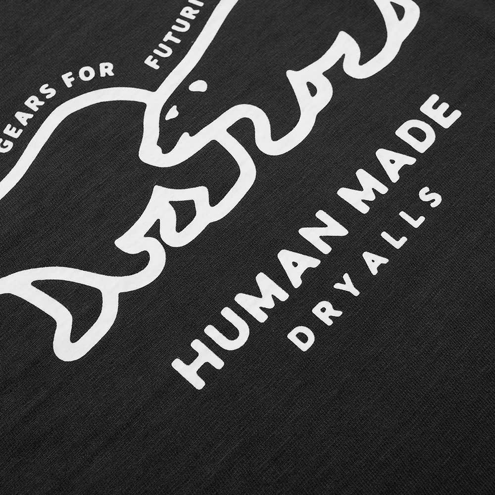 Human Made Polar Bear Outline Tee - Black