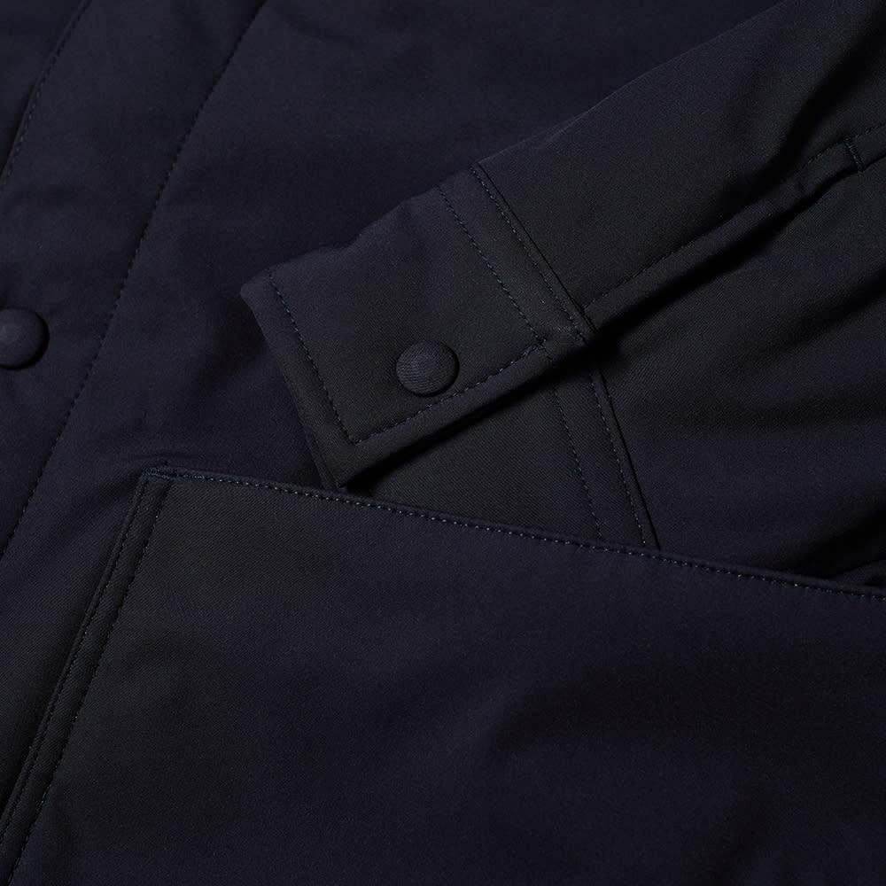 Officine Générale Stuart Padded Shirt Jacket - Navy