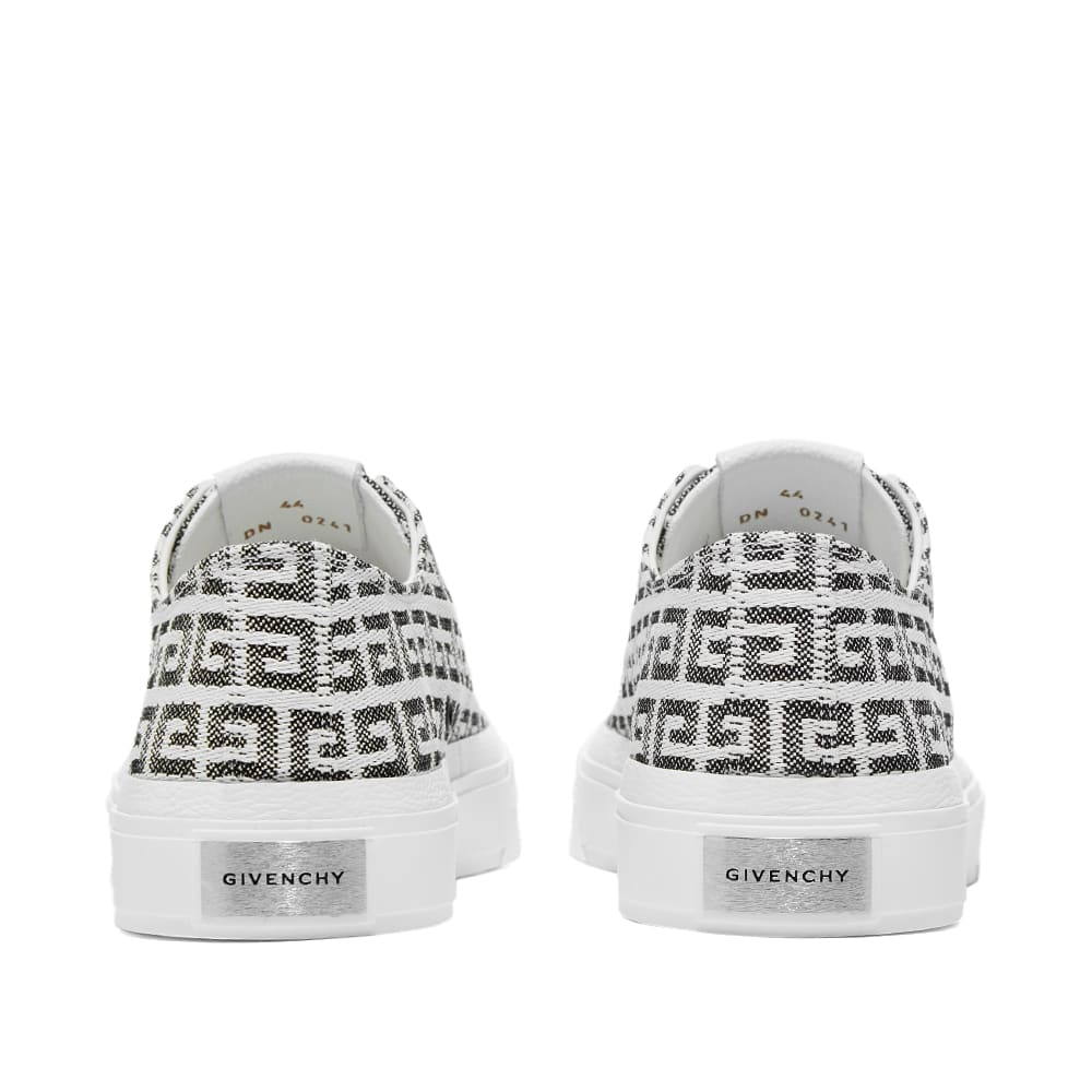 Givenchy 4G Jacquard City Low Sneaker - Black & White