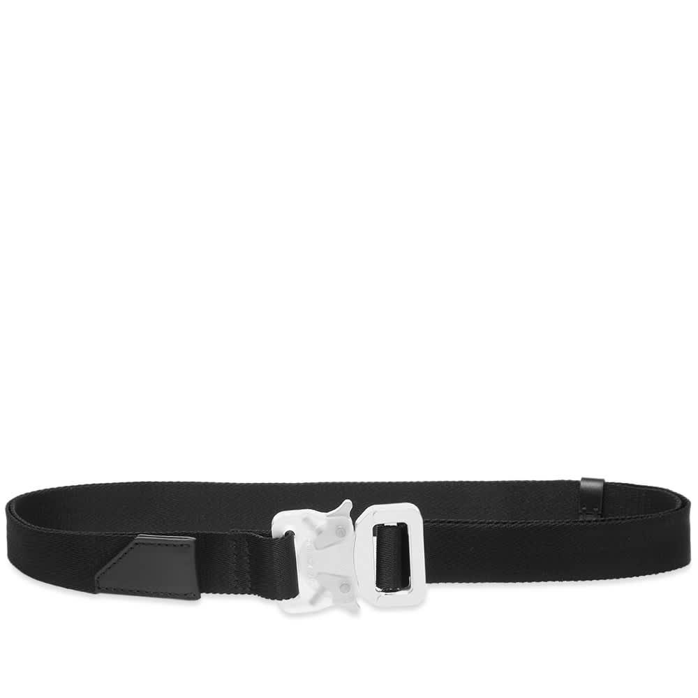 1017 ALYX 9SM Medium Rollercoaster Belt - Black