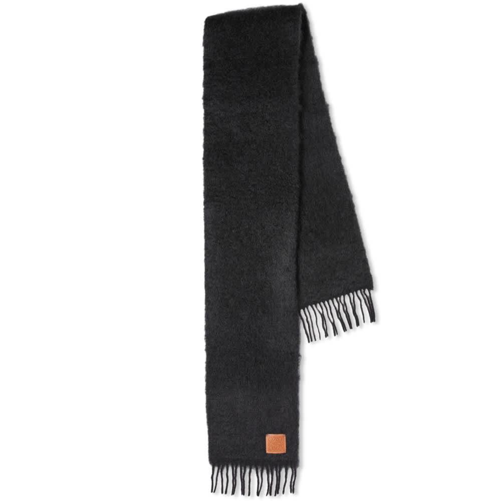 Loewe Mohair Scarf - Black