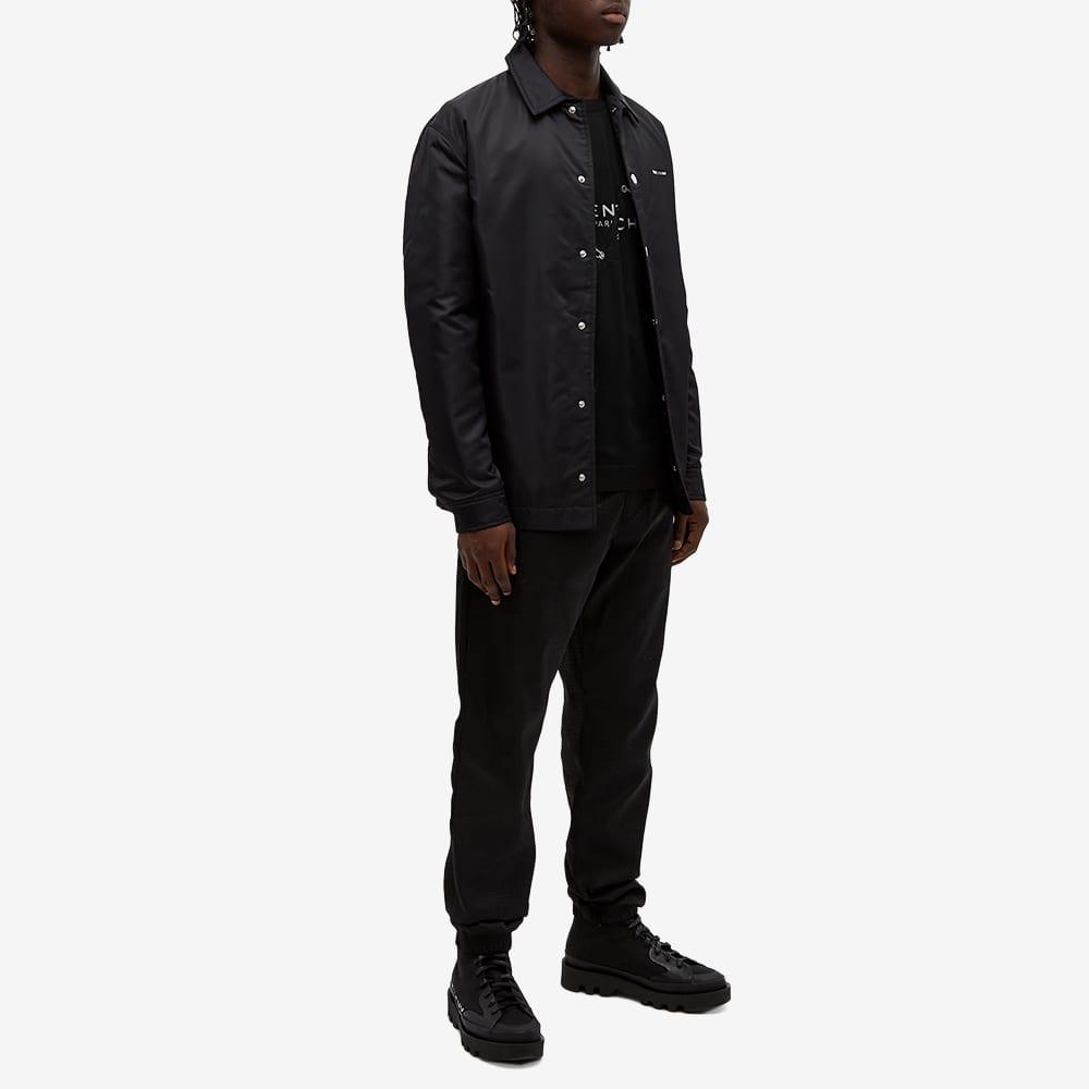 Givenchy Trompe LOeil Logo Tee - Black