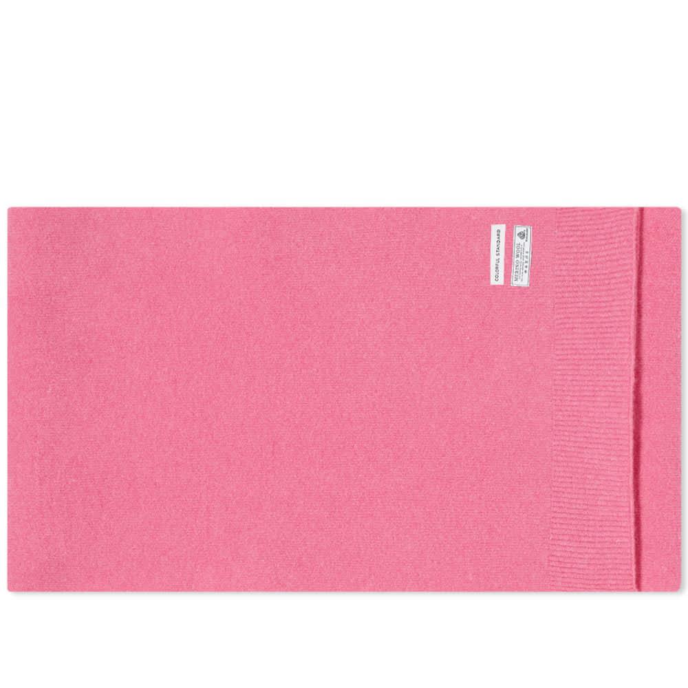Colorful Standard Merino Wool Scarf - Bubblegum Pink