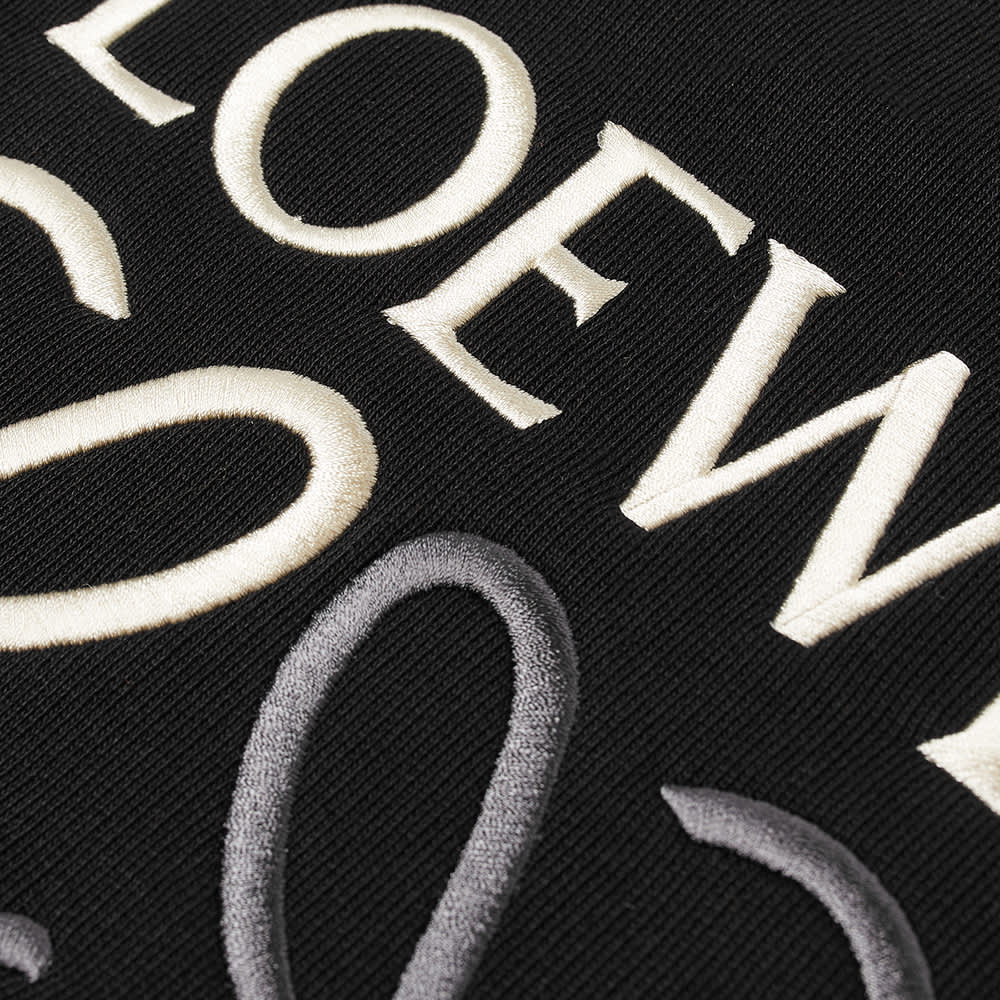 Loewe Anagram Crew Sweat - Black