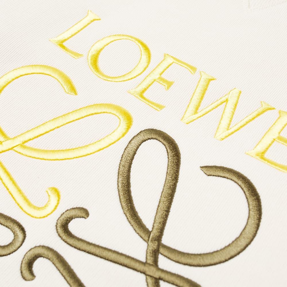 Loewe Anagram Crew Sweat - Ecru
