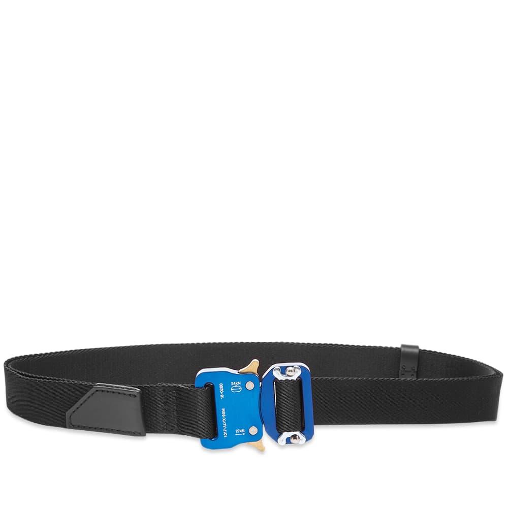 1017 ALYX 9SM Medium Rollercoaster Belt - Black & Blue