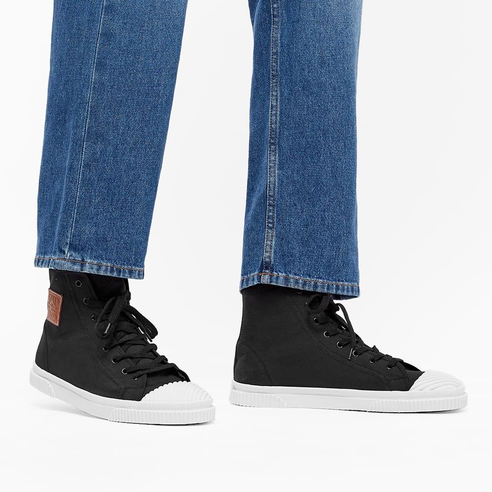 Loewe High Top Sneaker - Black