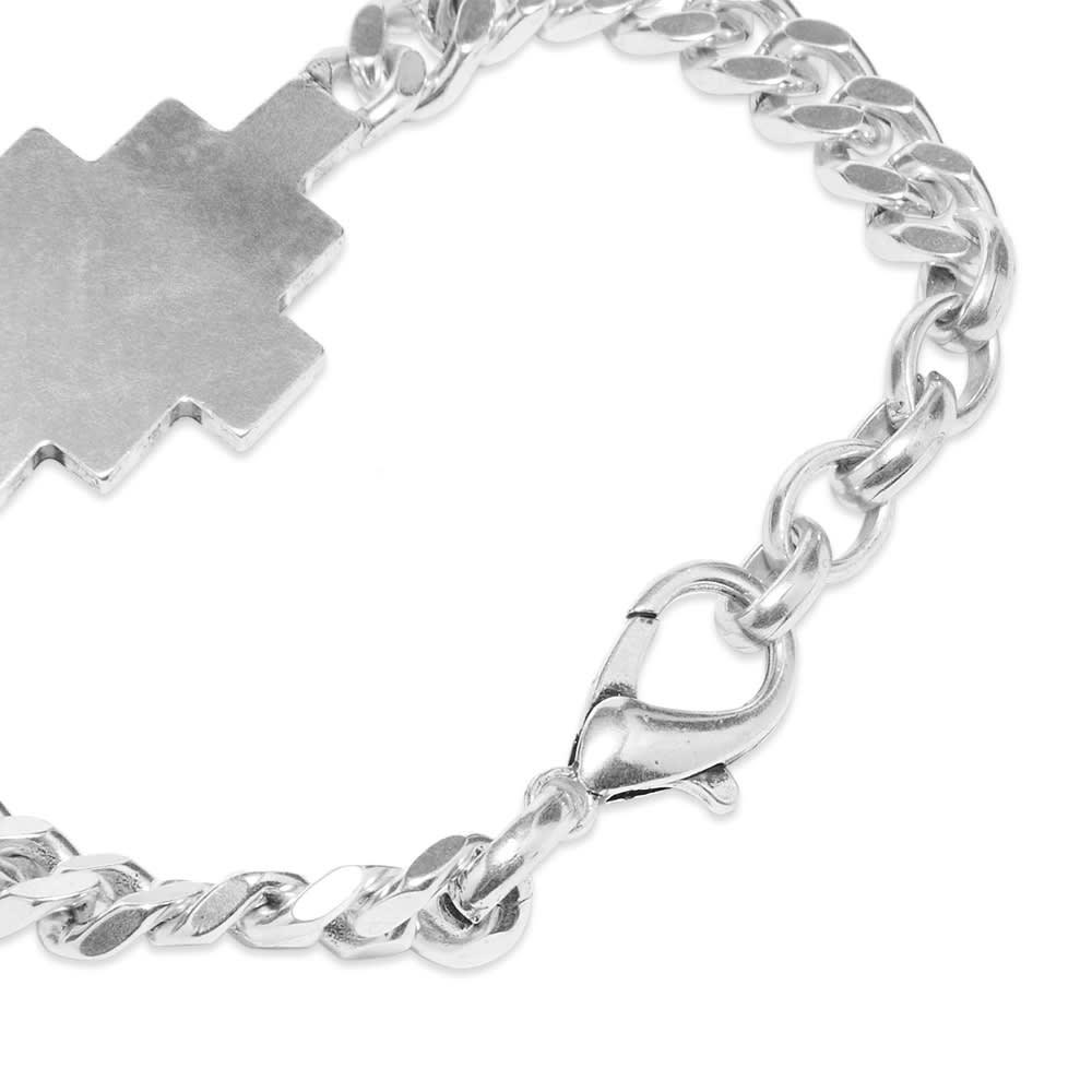 Marcelo Burlon Cross Bracelet - Silver