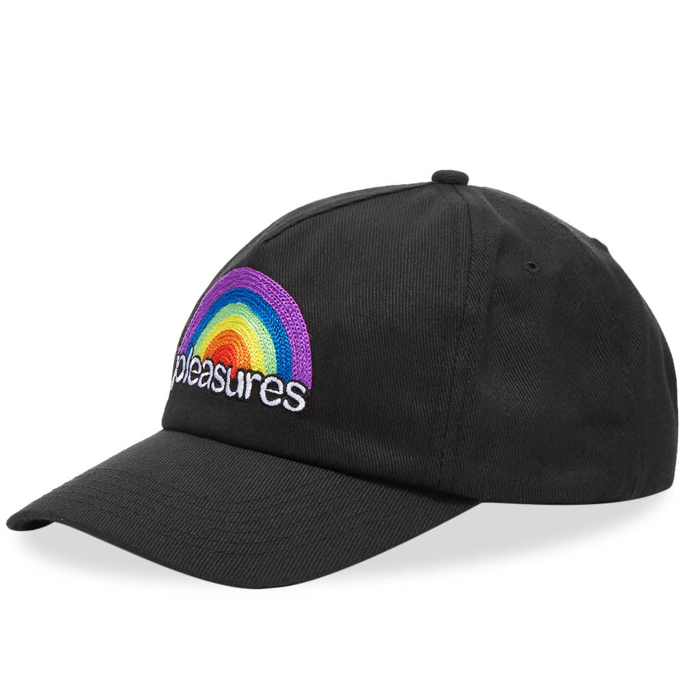 PLEASURES Good Time Unconstructed Hat - Black