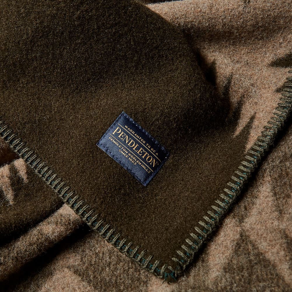 Pendleton Napped Blanket - Brown