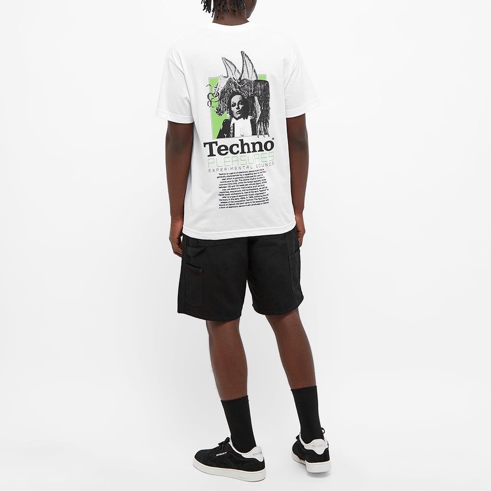 PLEASURES Techno Tee - White