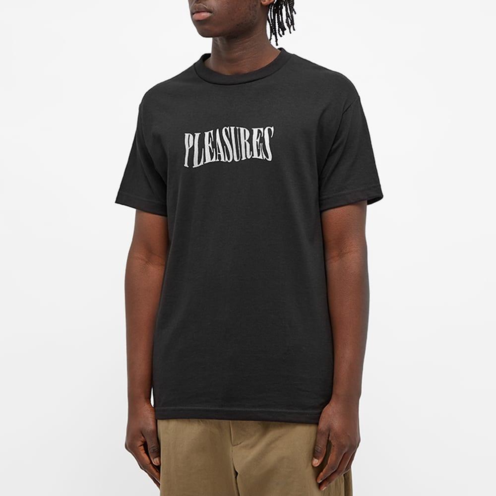 PLEASURES Party Logo Tee - Black