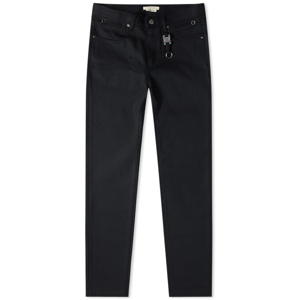 1017 ALYX 9SM Classic Jean With Key Chain - Black