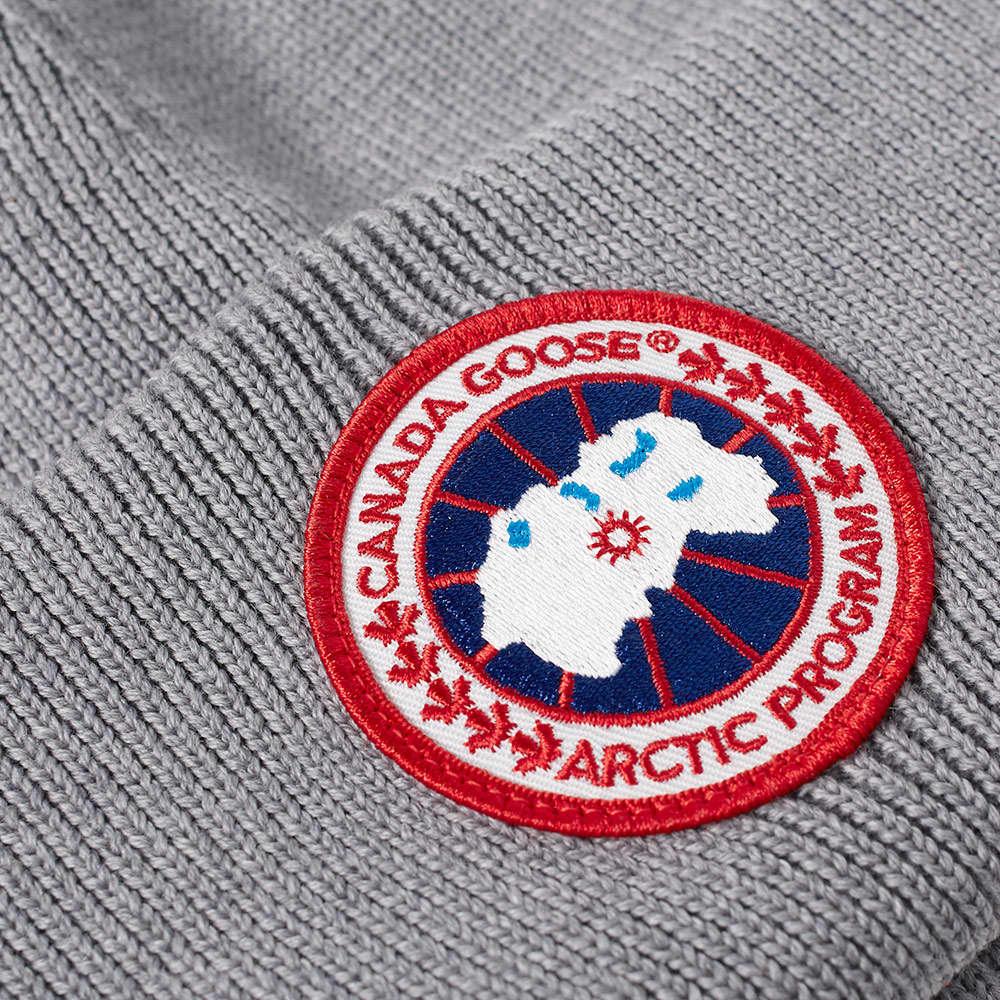 Canada Goose Arctic Disc Toque Beanie - Heather Grey
