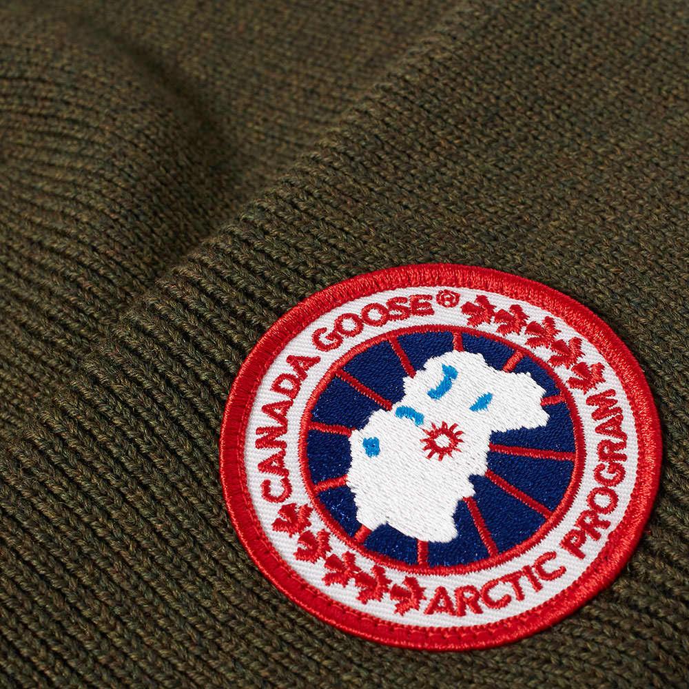 Canada Goose Arctic Disc Toque Beanie - Military Green