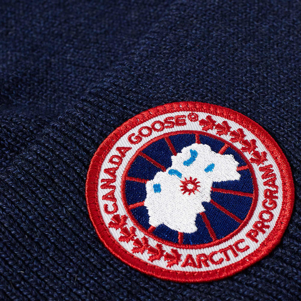 Canada Goose Arctic Disc Toque Beanie - Navy Heather