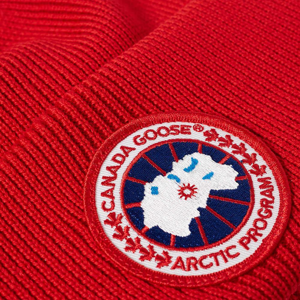 Canada Goose Arctic Disc Toque Beanie - Red