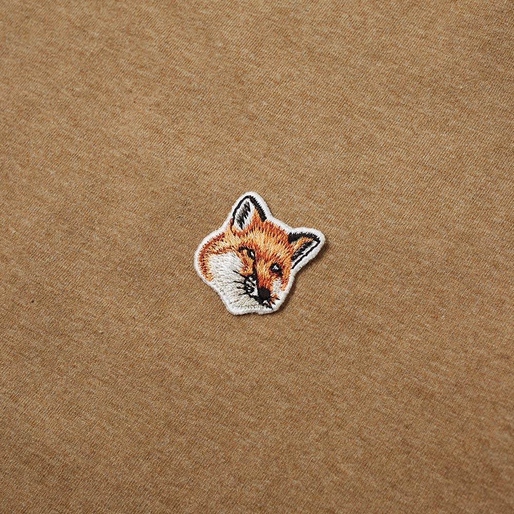 Maison Kitsuné Fox Head Patch Tee - Beige
