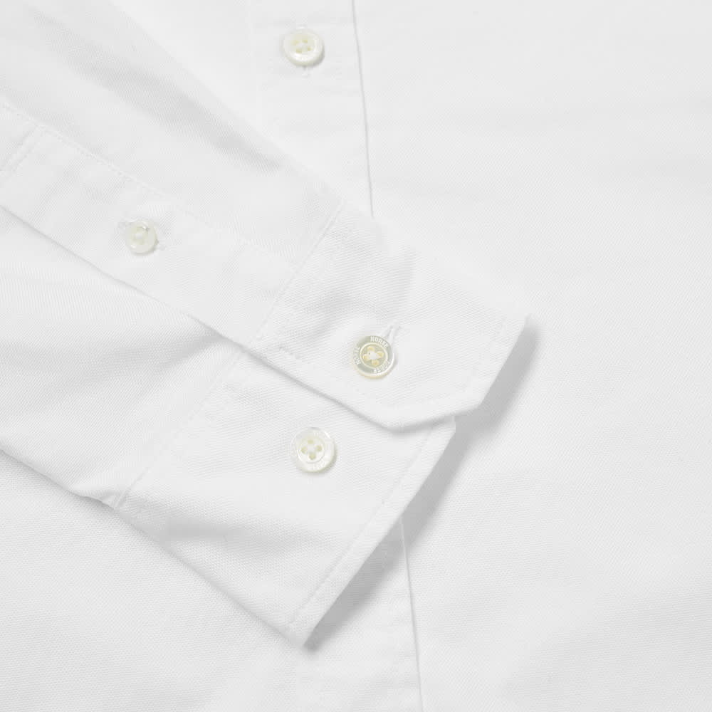 Norse Projects Anton Oxford Logo Shirt - White