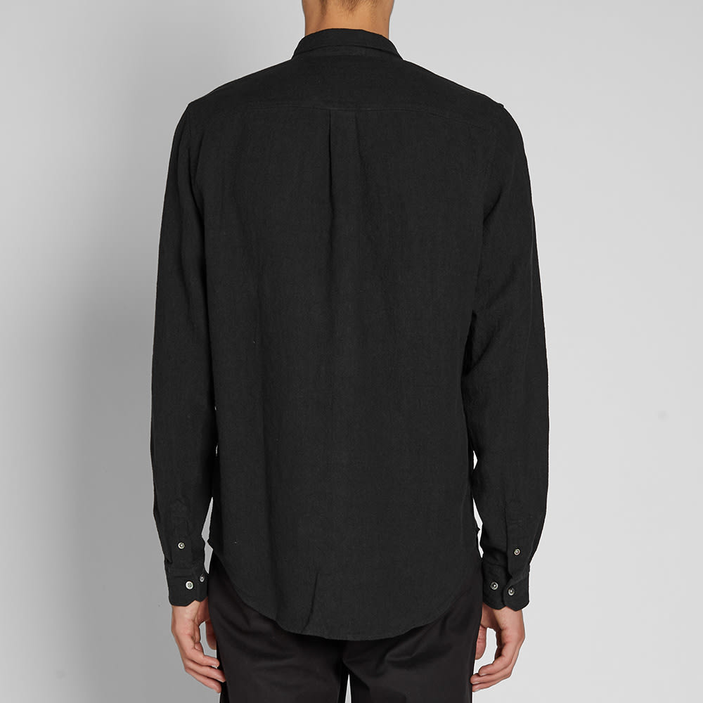 Norse Projects Osvald Textured Shirt - Black