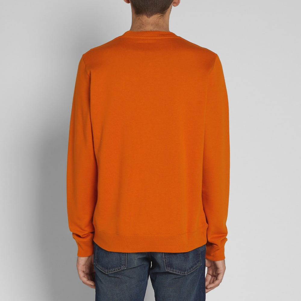 Norse Projects Vagn Classic Crew Sweat - Oxide Orange