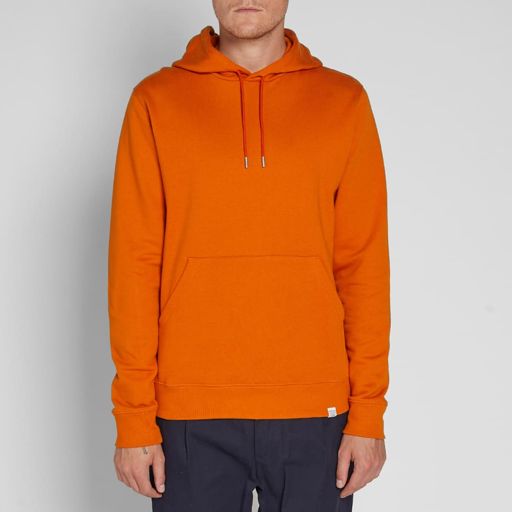 Norse Projects Vagn Classic Hoody - Oxide Orange