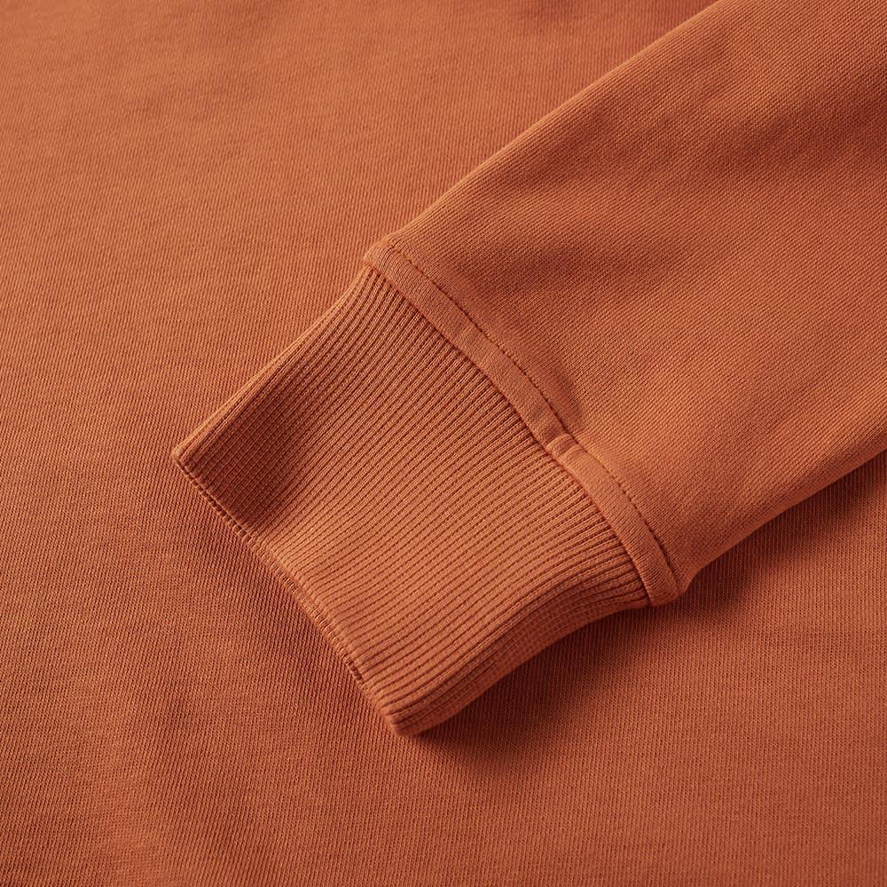 YMC Schrank Raglan Sweat - Rust