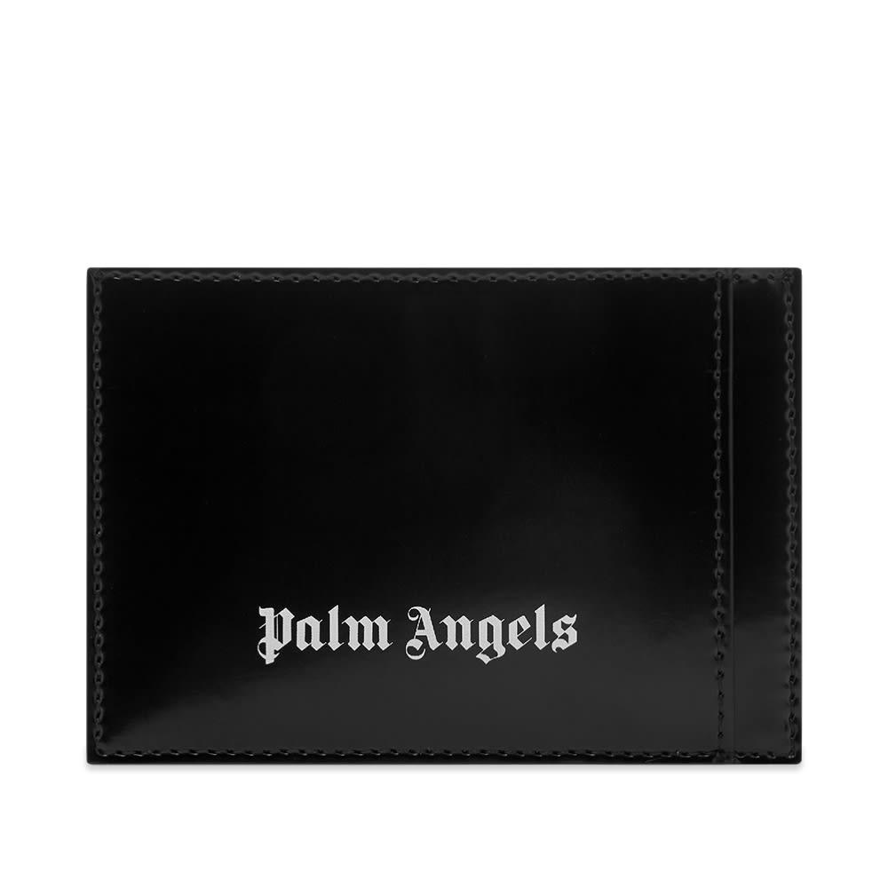 Palm Angels Logo Card Holder - Black