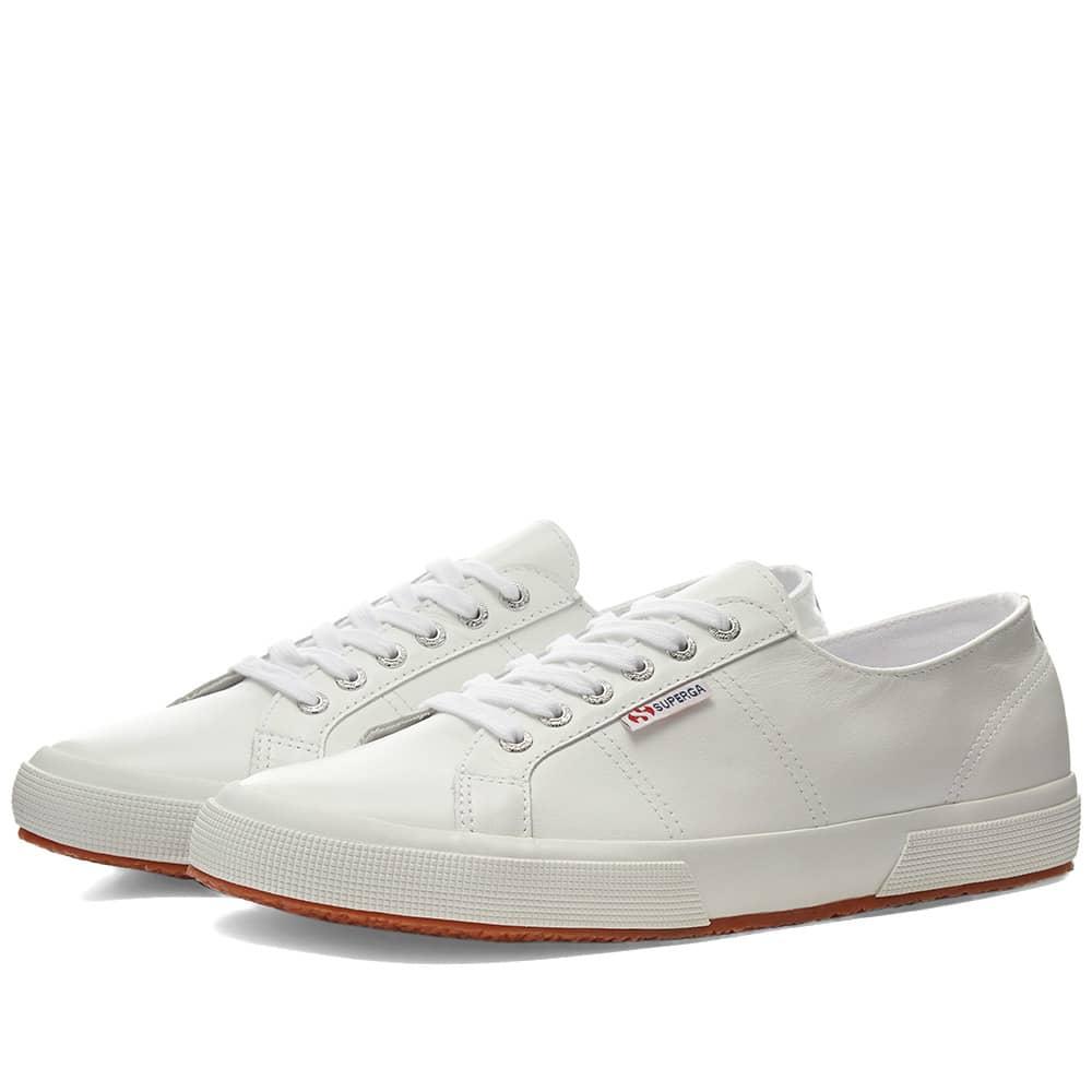 Superga 2750 Nappa Leather White | END.