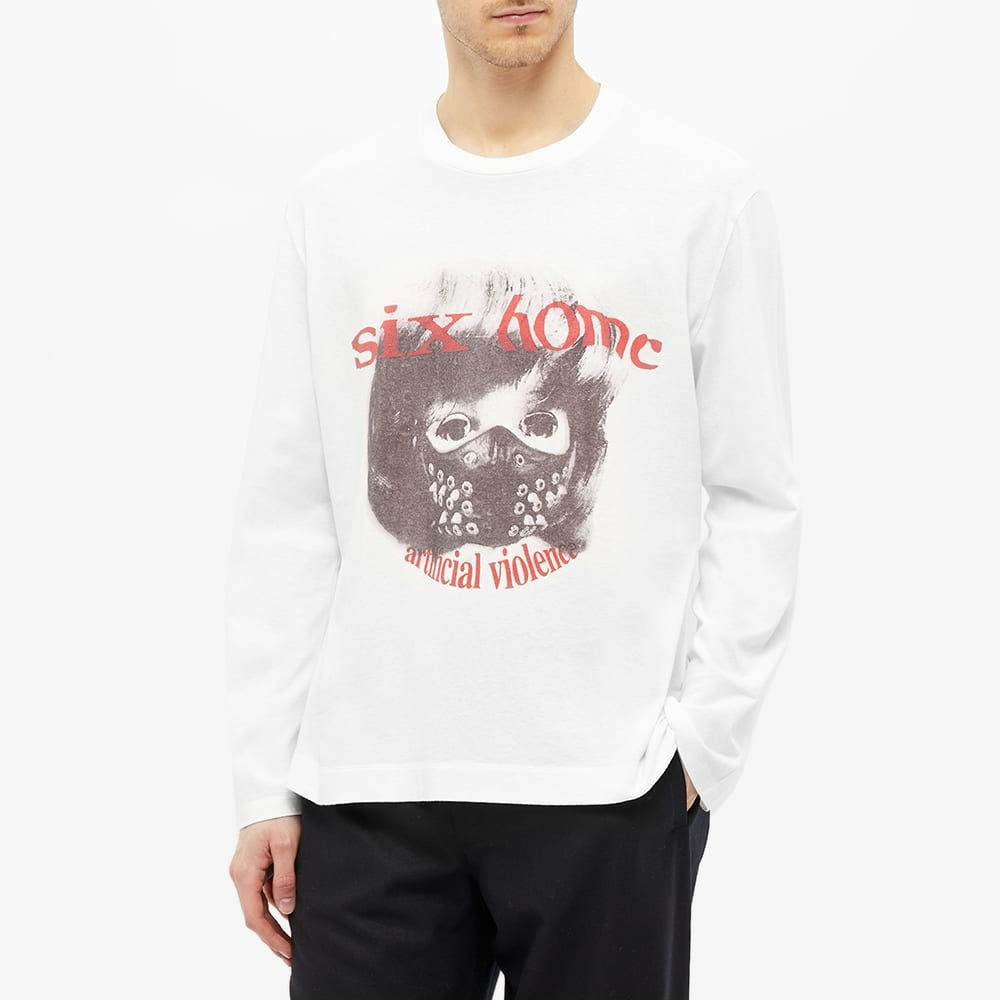 Our Legacy Long Sleeve Roadway Print Tee - White
