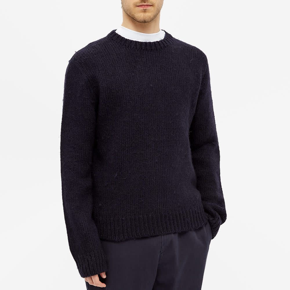 Our Legacy Base Roundneck Knit - Blue