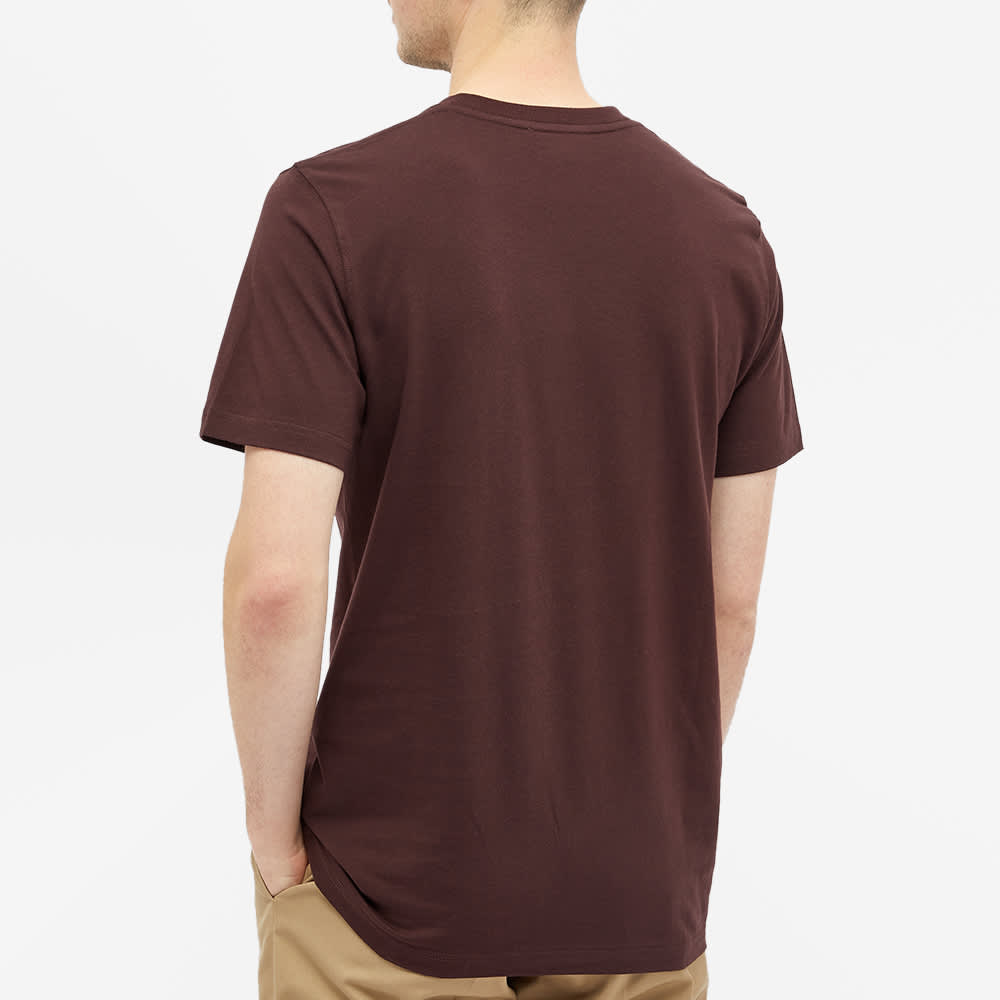 Norse Projects Niels Standard Tee - Eggplant Brown