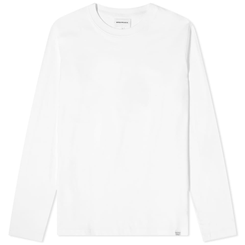 Norse Projects Long Sleeve Niels Standard Tee - White