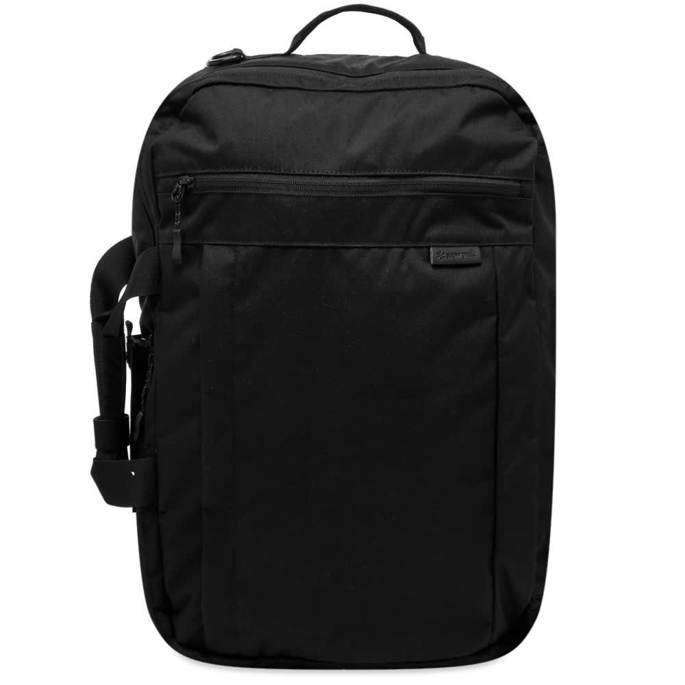 Snow Peak Everyday 3-Way Business Bag - Black