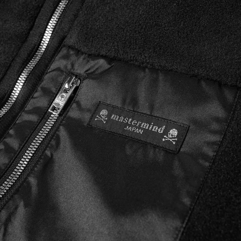 MASTERMIND JAPAN Fleece Jacket - Black