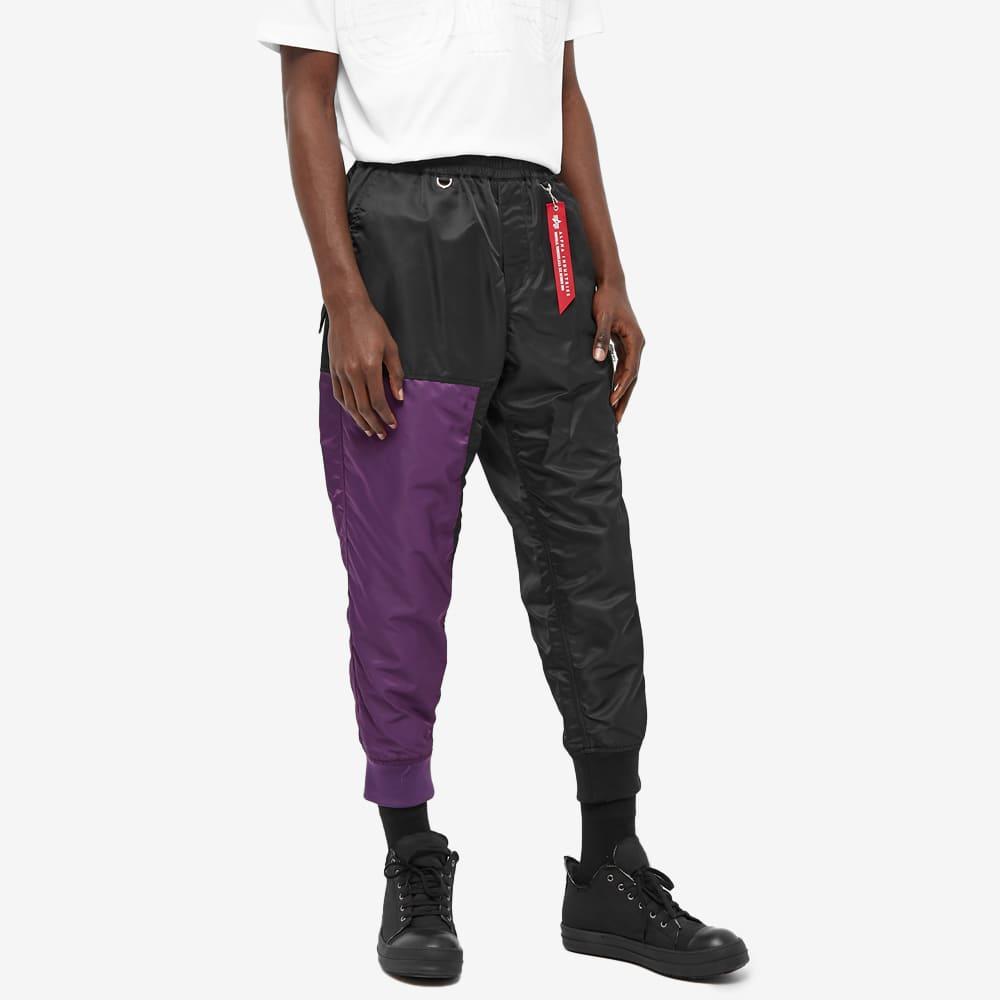 MASTERMIND WORLD x C2H4 Pant - Black & Purple