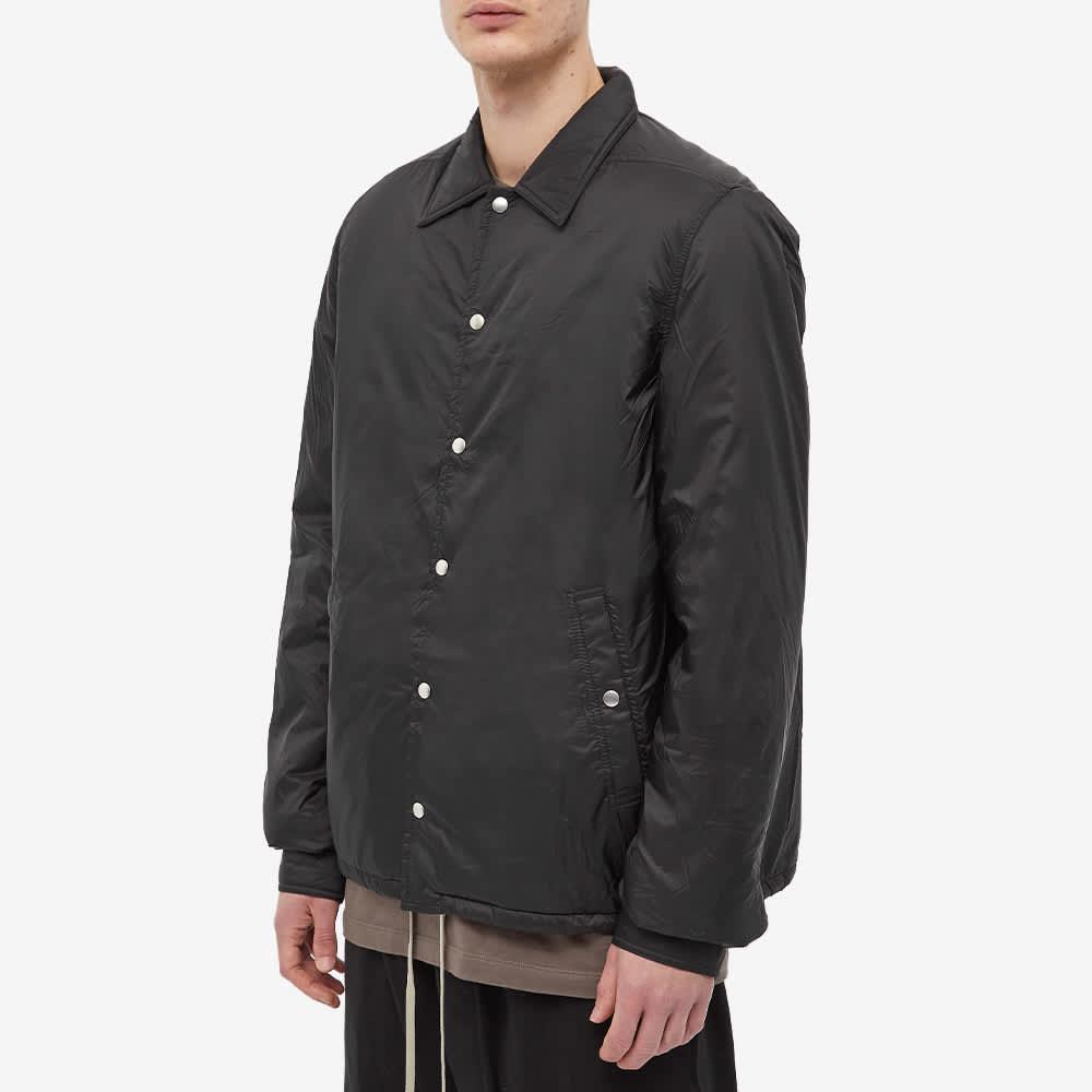 Rick Owens DRKSHDW Recycled Nylon Snapfront Jacket - Black