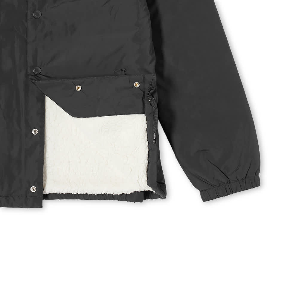 Patta Basic Sherpa Coach Jacket - Black