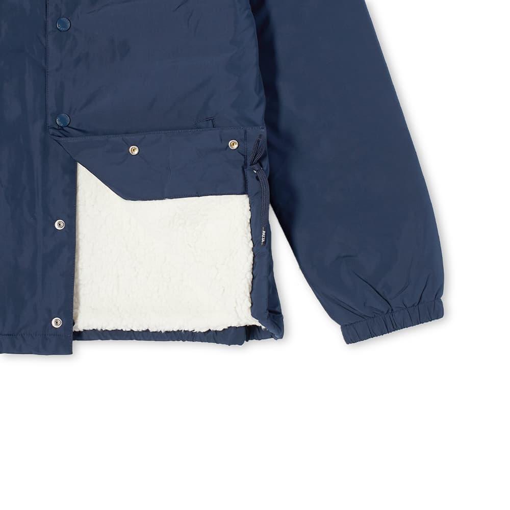 Patta Basic Sherpa Coach Jacket - Navy Blazer