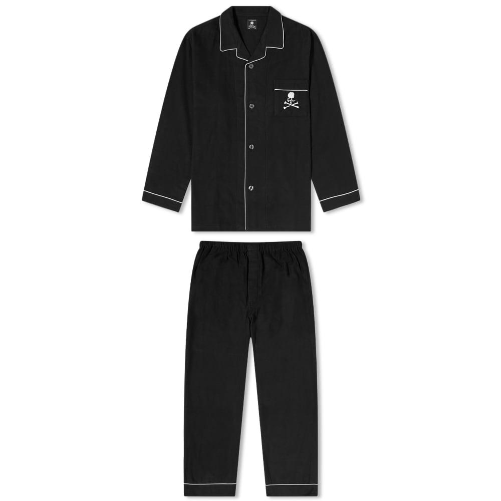MASTERMIND WORLD Skull Pajamas - Black
