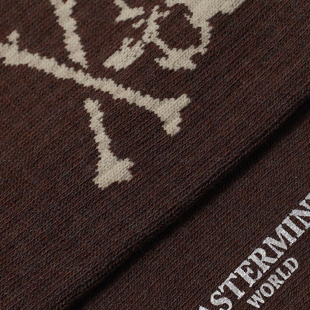 MASTERMIND WORLD Skull Socks - Brown